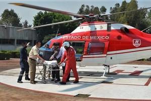 Alrededor de las 11:30 horas, especialistas arribaron con el hígado al helipuerto del Hospital de Traumatología y Ortopedia del IMSS de Magdalena de las Salinas, para finalmente trasladarlo en ambulancia al CMN de La Raza.