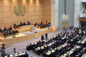La 70.ª Asamblea Mundial de la Salud se reúne en Ginebra del 22 al 31 de mayo de 2017. La Asamblea es el órgano decisorio supremo de la Organización Mundial de la Salud.