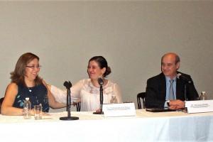 Daniela Estupiñal, Stephanie Voorduin, y José Luis Cañadas