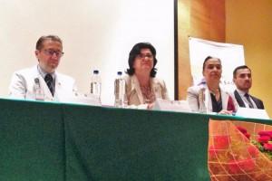 La directora general del CNTS, Julieta Rojo, inauguró el VII Simposio Internacional de Banco de Sangre de Cordón Umbilical y Medicina Regenerativa