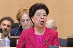 """La OMS defiende la equidad, se debe continuar haciendo de la """"reducción de las desigualdades"""" un principio ético rector; Dra. Margaret Chan"""