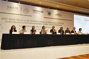 Del 26 al 28 de junio reúne a representantes de APEC, agencias reguladoras, academia, industria y autoridades del sector salud. El encuentro forma parte del Programa del Centro de Excelencia COFEPRIS en Buena Gestión de Registro (GRM) para Medicamentos.