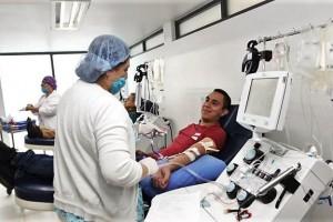 La donación de sangre tiene la ventaja de hacerse en vida y al menos hasta 3 veces por año.