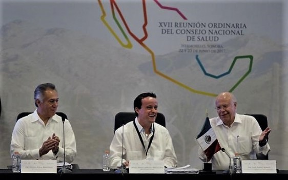 Mikel Arriola en la XVII Reunión Nacional Ordinaria del Consejo Nacional de Salud (CONASA