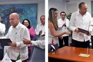 El ISSSTE firmó un convenio de colaboración con el Ministerio de Salud y otro con el Centro Internacional de Restauración Neurológica de Cuba.