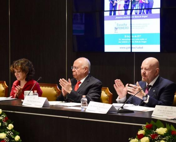 El Secretario de Salud encabezó la conmemoración del Día Internacional de la Lucha contra el Uso Indebido y el Tráfico Ilícito de Drogas