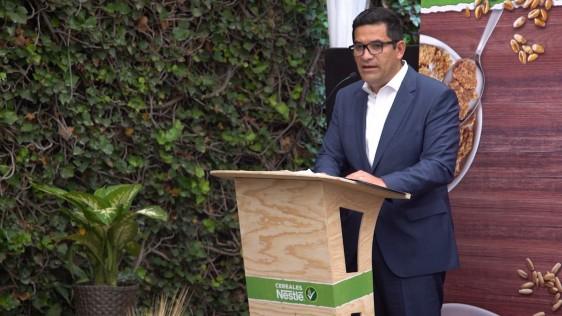 Necesitamos trabajar en conjunto investigadores, organismos representantes de salud y nutrición para mejorar el desayuno de los mexicanos, Felipe Santana, director General de Cereales Nestlé México.