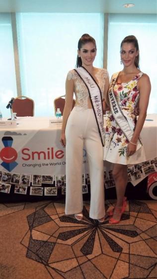 Con la presencia de Iris Mittenaere, Miss Universo 2017, Smile Train celebró el Día Nacional de Labio y Paladar Hendido en la Ciudad de México.