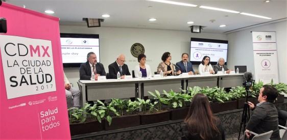 """La senadora Mariana Gómez del Campo encabezó la presentación de la plataforma """"Purple Day"""""""