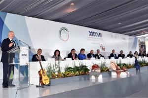 Inaugura José NarrolaXXXVII Asamblea Plenaria de la Conferencia Nacional de Procuración de Justicia.
