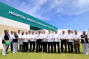 El Secretario de Salud, José Narro Robles, supervisó el funcionamiento del Hospital Básico Comunitario de Berriozábal, Chiapas.