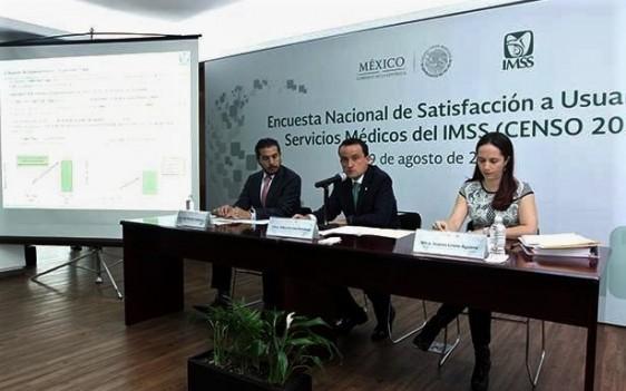 El Director General del IMSS, Mikel Arriola Peñalosa, dijo que lo más importante del Censo 2017 es que permite detectar con precisión las principales áreas de oportunidad para mejorar la calidad y calidez de los servicios.