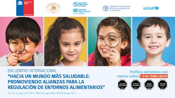 En esta línea, la experiencia chilena ha generado un interés regional. Particularmente, las acciones en torno a la implementación del etiquetado de alimentos, que entró en vigencia el 27 de junio de 2016, con el objetivo principal de proteger la salud de la población, especialmente de los niños y niñas.