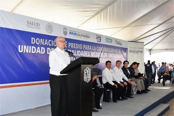 El Secretario de Salud, José Narro, realizó gira de trabajo por Tijuana, Baja California