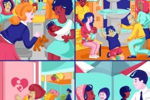 La lactancia natural es el mejor modo de proporcionar al recién nacido los nutrientes que necesita. La OMS la recomienda como modo exclusivo de alimentación durante los 6 primeros meses de vida; a partir de entonces se recomienda seguir con la lactancia materna hasta los 2 años, como mínimo, complementada adecuadamente con otros alimentos inocuos.