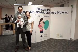 Celebración en el Hospital SEDNA para juntos decir si a la lactancia materna