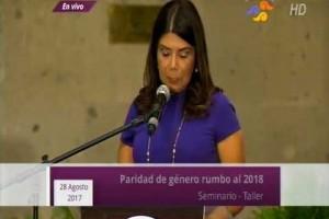 Proponen avanzar en principio de paridad y eliminar violencia política de género frente a proceso electoral de 2018