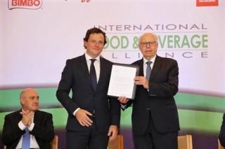 Rocco Renaldi, Secretario General de IFBA y Dr. Narro Secretario de Salud