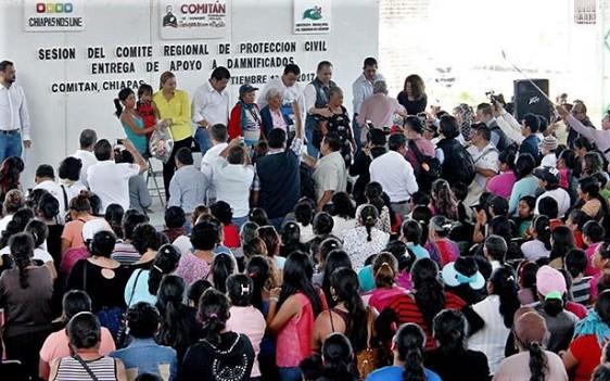 lrededor de 60 brigadas del Gobierno Federal y Estatal recorrieron, casa por casa, los 19 municipios que encargó el Presidente de la República.