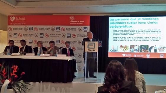 El pasado 19 de septiembre de 2017 Abbott y la Sociedad Mexicana de Cardiología unieron fuerzas para convocar a celebrar el Día Mundial del Corazón en un evento educativo y motivador para concientizar a la población sobre la importancia de mantener un corazón sano.