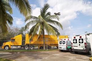Se despliegan brigadas médicas e insumos a las zonas de riesgo por el huracán Katia