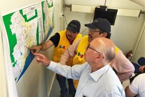 Se fortalecen las acciones de saneamiento y control de vectores en las zonas afectadas por los sismos El Secretario de Salud reiteró a la población la importancia del auto-cuidado de la salud.