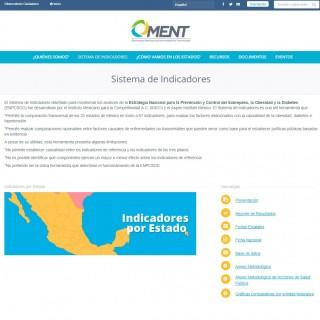 El Sistema de Indicadores diseñado para monitorear los avances de la Estrategia Nacional para la Prevención y Control del Sobrepeso, la Obesidad y la Diabetes (ENPCSOD) fue desarrollado por el Instituto Mexicano para la Competitividad A.C. (IMCO) y el Aspen Institute Mexico.