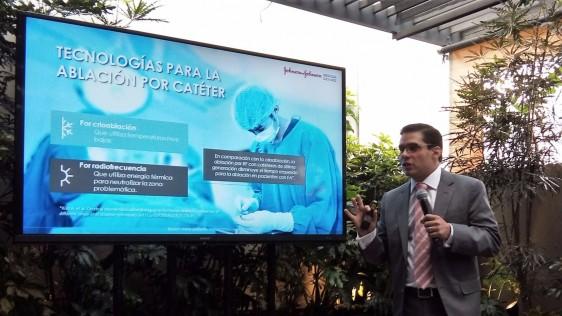 El Dr. Dr. Alex Pacheco explica los tipos de ablación