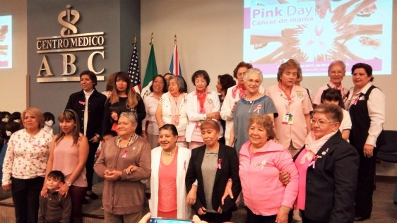 En el marco del Día mundial de la lucha contra el cáncer de mama, el Centro Médico ABC lleva a cabo un Pink Day, evento que busca hacer conciencia en pacientes y familiares sobre el diagnóstico oportuno de este padecimiento.