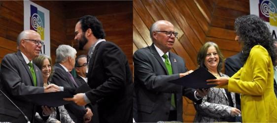 El Secretario de Salud, José Narro, reconoció el altruismo y solidaridad de especialistas en salud mental y entrego 2 reconocimientos.