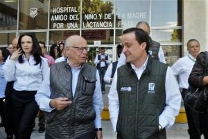 Representantes del Sector Salud revisaron la situación sanitaria en ambas entidades