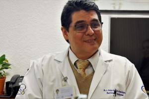 El doctor Luis Felipe Gordillo espera que Jaciel tenga una nueva oportunidad de vida feliz y sin dolor.