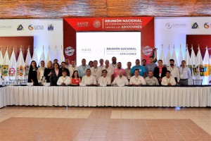 primera Reunión Nacional de Comisionados Estatales contra las Adicciones 2017