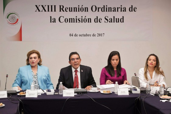 El senador Salvador López encabezó la XXIII Reunión ordinaria de la Comisión de Salud