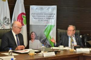 José Narro Robles encabezó la Cuadragésima segunda Sesión Ordinaria del Consejo Asesor Científico y Médico del ISSSTE
