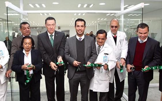 El titular del Seguro Social, Tuffic Miguel, puso en marcha las áreas rehabilitadas y afirmó que gracias a la solidez financiera, se mejora la infraestructura.