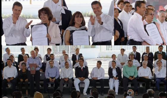 Ceremonia por el Día de la Enfermera y del Enfermero 2018, que se llevó a cabo en Villa de Álvarez, Colima.
