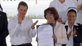 Enrique Peña Nieto y María Dolores Zarza Arizmendi