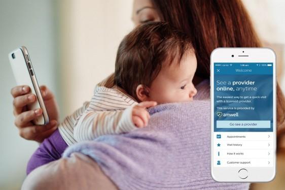 Primera implementación en la plataforma para padres Avent uGrow de Philips, que permite a estos acceder a consultas médicas las 24 horas del día, los 7 días de la semana logrando tranquilidad inmediata.