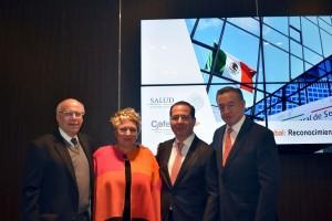 El Secretario de Salud, José Narro Robles, encabezó la ceremonia