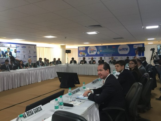 El Comisionado Federal Julio Sánchez y Tépoz participó en los trabajos de India Pharma 2018