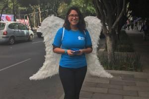 Cupidos Marie Stopes invaden la CDMX con kits de protección
