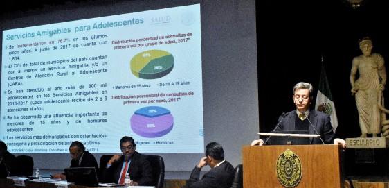 El 39% de quienes acuden son menores de 15 años, Pablo Kuri Morales