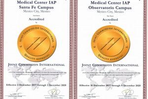 El Centro Médico ABC en sus dos campus, Santa Fe y Observatorio, obtuvo por cuarta ocasión la acreditación en el programa de hospitales de la Joint Commission International (JCI), considerada la acreditación más rigurosa en el cuidado de la salud y que evalúa a instituciones de más de 100 países delmundo.