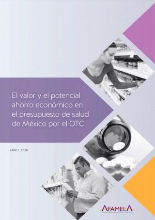 """Portada del estudio """"Valor Económico de los medicamentos de libre acceso"""""""