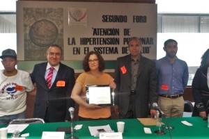 De izquierda a derecha: Jonathan Hernandez, Pablo Trejo, Dip. Maricela Contreras, Leonel Díaz, Dr. Carlos Castillo y Edith Cortés