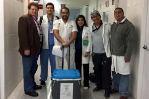 El órgano proviene del Hospital Regional de Alta Especialidad Zumpango, Estado de México, de un hombre de 37 años de edad con daño neurológico.