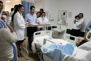 También anunció la apertura de dos guarderías en Cancún y Chetumal, que beneficiarán a 500 menores.