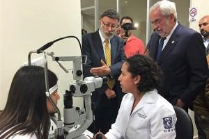 La inauguración estuvo presidida por el Dr. Enrique Graue Wiechers, rector de la Universidad Nacional Autónoma de México (UNAM).