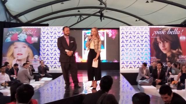 Ana Layevska, en la presentación de la edición de la revista Vive Bella